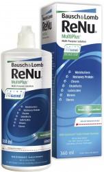 Раствор для ухода за контактными линзами, Реню 355-360 мл МультиПлюс универсальный